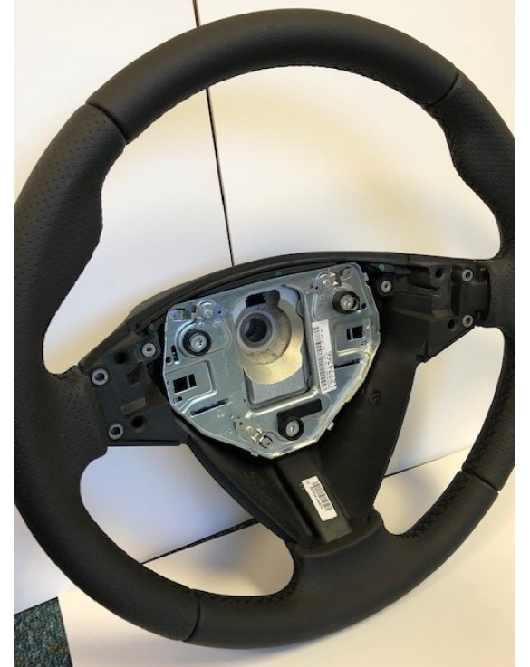 3 Spoke Leather Sports Steering Wheel