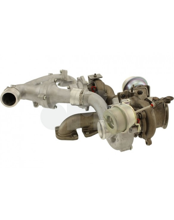 Turbocharger & Exhaust manifold